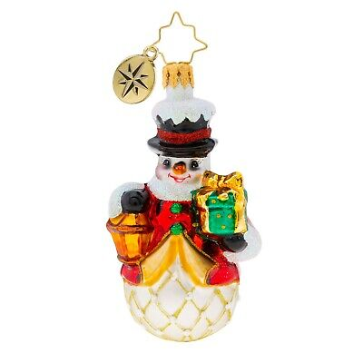 [NEW Christopher Radko LIGHT THE WAY Christmas Ornament 1019730 Little Gem</Title]