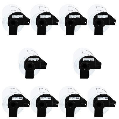 10 Roll 200 Shipping Labels Dk-1241 4 X 6 For Brother Ql-1050n Ql-1110nwb