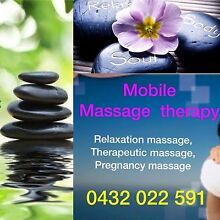 Mobile massage therapy Rochedale Brisbane South East Preview