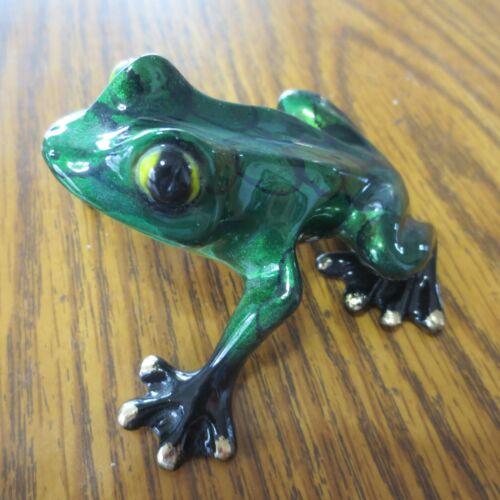 Barry Stein Bronze Frog Tootsie Sculpture 2009 89/1000
