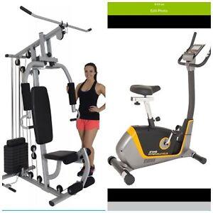 OHG3067 gym + OBK8727 upright bike $999 only@ Orbit Fitness Rockingham Rockingham Rockingham Area Preview