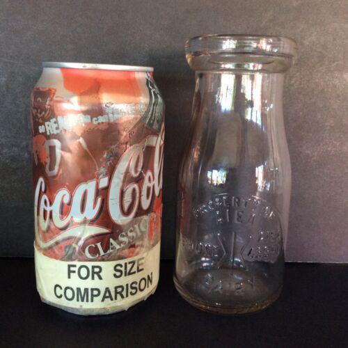 ~DUTCH AUCTION~(z284) Vintage AIEA DAIRY (Hawaii) 1/2 Pint Embossed Milk Bottle