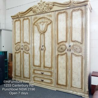 CLEARANCE SALE Brand New Wardrobes In Wood European Classic Style
