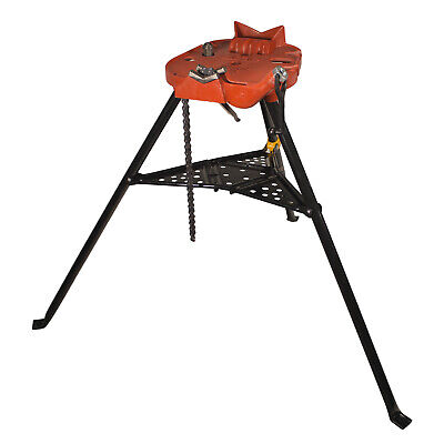 Reconditioned Ridgid 460-6 Portable Tristand Chain Vise Stand 36273