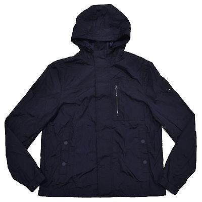 Tommy Hilfiger Mens Huntsman Jacket Lightweight Hooded Zip Up Coat Flag Logo New