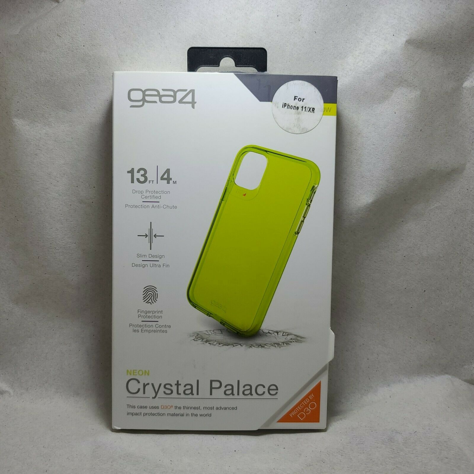 Gear 4 Crystal Palace Case Neon Green For Apple IPhone 11 - $8.99