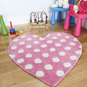 Luminoso rosa a pois cuore camera da letto bambina tappeto - Tappeto cameretta bambina ...