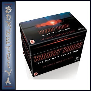 KNIGHT RIDER -THE ULTIMATE COLLECTION-SEASONS 1 2 3 & 4**BRAND NEW DVD