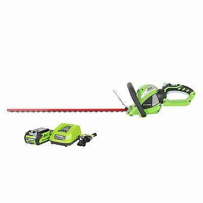 Greenworks 22262 40V G-MAX Cordless Lithium-Ion 24 in. Rotat
