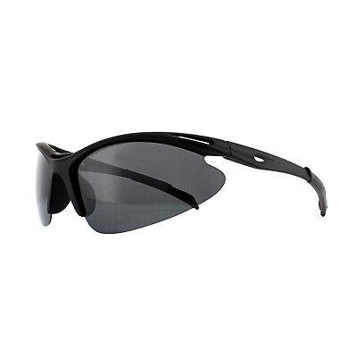Montana Gafas de Sol SP301 Goma Negra Humo Polarizado