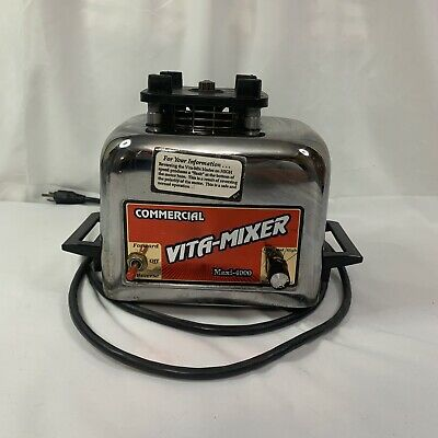 Vita-mix Commercial Vita-mixer Maxi-4000 Blender Base Motor Only