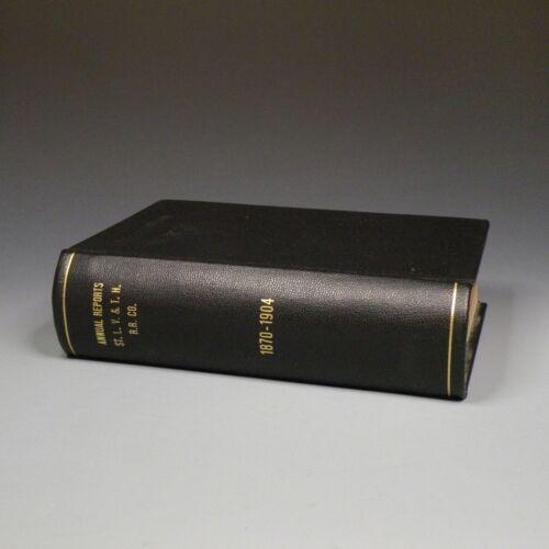1870-1904 annual reports - St. Louis, Vandalia & Terre Haute Railroad Company
