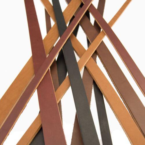 Full Grain Harness_Bridle Leather Heavy Duty Straps Strips_1/2, 3/4 or 1 width