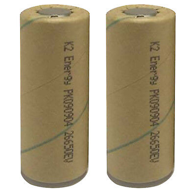 2x K2 Energy 26650 3.2V High-Energy Rechargable Electric Car Battery USA SHIP
