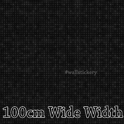 Black Contact Rolls Paper Countertop Cabinet Shelf 100cm Wide Glossy Wallpaper