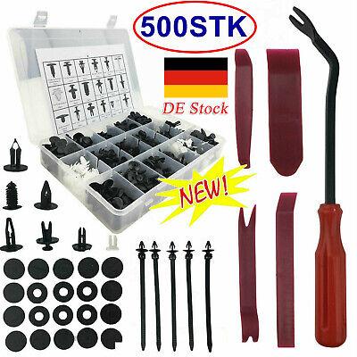 500X Auto Niete Clip Sortiment, Türverkleidung Für PKW KFZ Werkstattbedarf Set