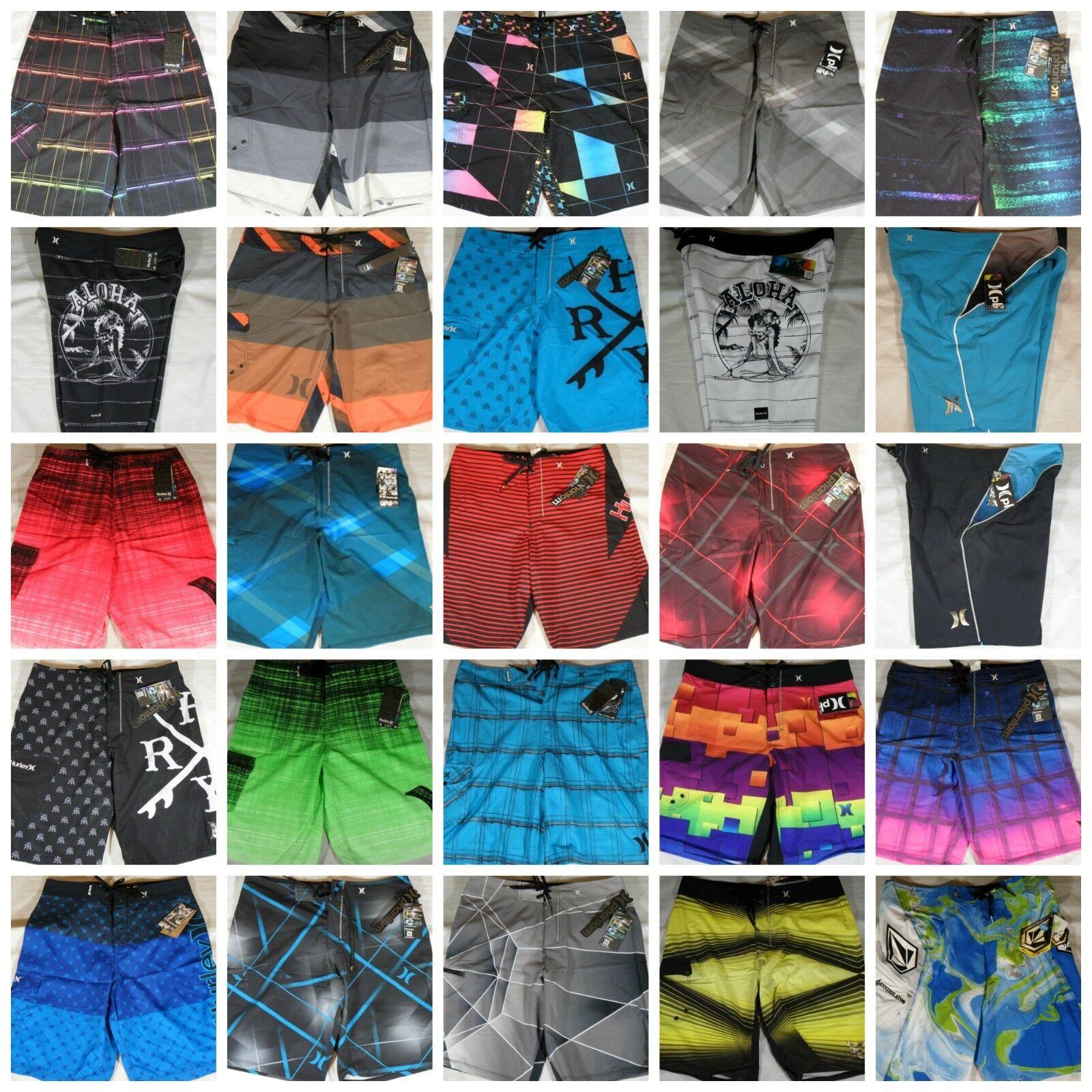 Купить NWT Mens Hurley DC Volcom Boardshorts Swim Shorts Phantom 60 Swimwear