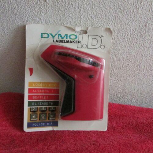 New. Vintage 1988 Dymo I.D. Labelmaker # 2001-01