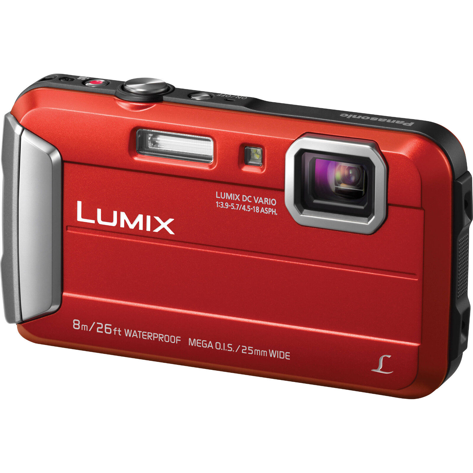 PANASONIC LUMIX Waterproof Digital Camera Underwater Camcord