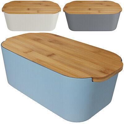 Bambus Brotkasten Brotbehälter Brotdose Brotbox Brottopf Brot Brötchen Box NEU