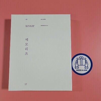 BTS Memories of 2017 DVD+PHOTO BOOK SET NO photo card oop rare Exp ship