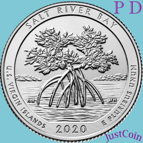 2020 P&D SALT RIVER BAY (US VIRGIN) NATIONAL PARK TWO QUARTERS SET PRESALE