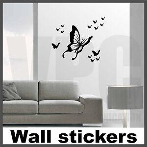 Wall stickers 14 farfalle adesivo murale vetri ante mobili auto animali ebay - Stickers mobili ...