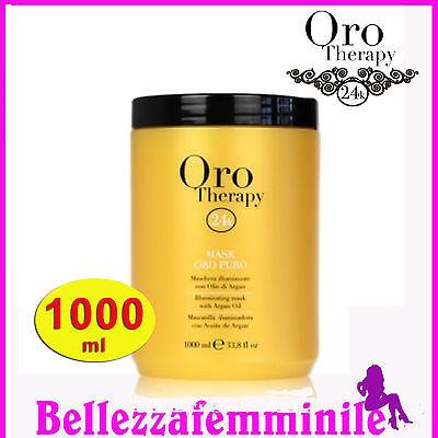Maschera Illuminante Oro Puro 1000 ml Oro Therapy Fanola