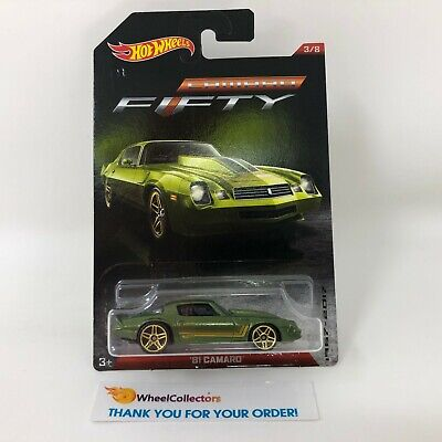 '81 Camaro * Green * Hot Wheels Fifty Years Camaro * R21