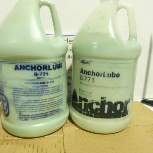 2 Gallons of Anchorlube G-771 Water Soluble Cutting Fluid - Workin Man
