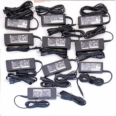 Pack of 10 HP OEM 65W 4.8mm Laptop Charger Power Adapter Wholesale Lot
