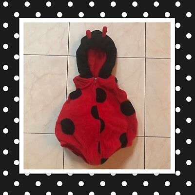 Carter's Red One Piece Ladybug Halloween Costume For Infants 3-6 Months (Halloween Costumes For Infants 3 6 Months)