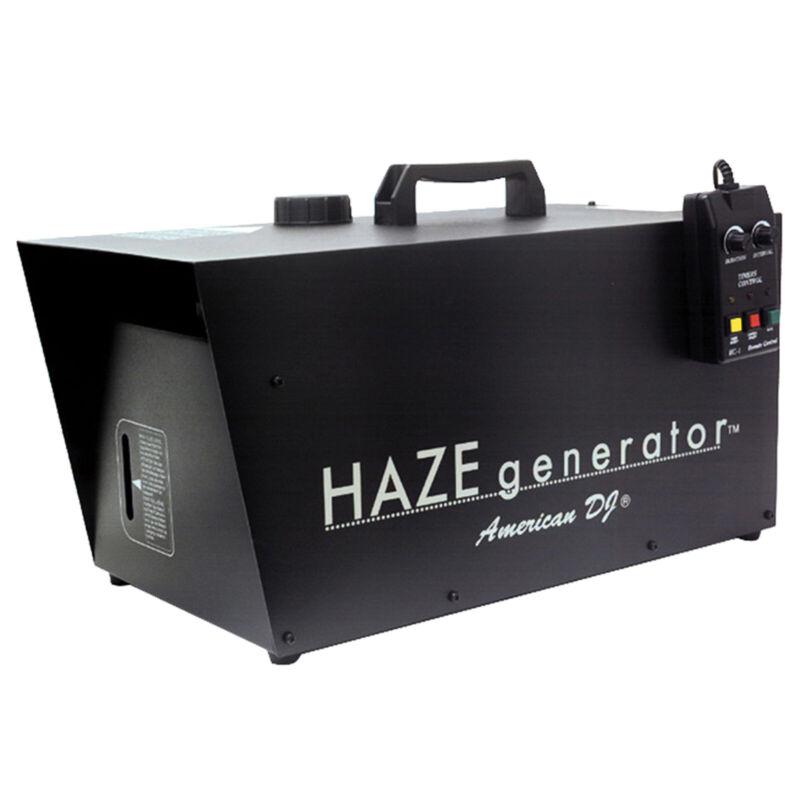 American DJ Haze Generator Theatrical Stage Mist/Fog Machine + Timer Remote