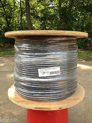Alpha Wire 45386 Bk199 18 Gauge 6 Conductor By The Foot - New