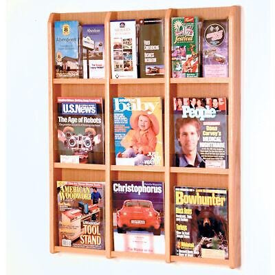 Wall Mount Literature Rack Brochure Holder Magazine Display Pamphlet Leaflet