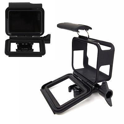 For GoPro Hero 7/6/5 Frame Housing Border Protective Shell Case - Black