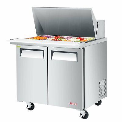 Turbo Air Est-36-15-n6 36 Mega Top Sandwich Salad Unit Refrigerated Counter