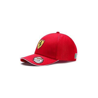 NEW 2019 Scuderia FERRARI F1 Sebastian VETTEL Driver Baseball Cap Hat OFFICIAL