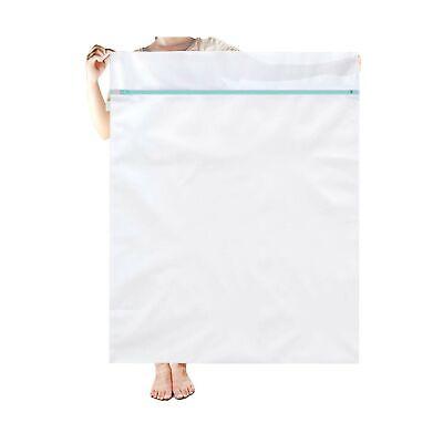 OTraki Dorm Mesh Laundry Bag 43 x 35 inch Extra Large Zippered Wash Bags for ...