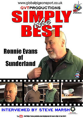 RONNIE EVANS of Sunderland - Racing Pigeon DVD