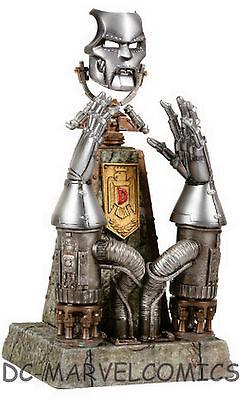 SIDESHOW DR DOOM MARVEL ARCHIVE SET Mask & Gauntlets STATUE EXCLUSIVE SDCC 2006  - Dr Doom Statue