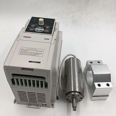 Natural Cooled 95w Spindle Motor 36v Kit 60000rpm High Speed Motor Vfdbracket