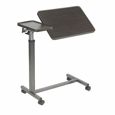 Drive Medical Overbed Table With Split Top, Both Tilts An...