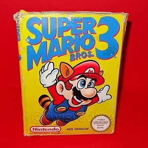 VINTAGE NINTENDO ENTERTAINMENT SYSTEM NES SUPER MARIO BROS ...