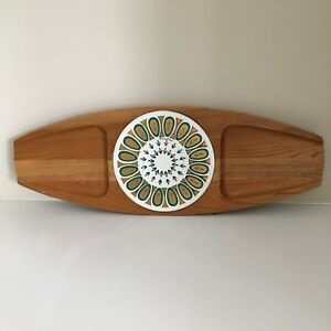 Vintage Fred Press Sere Wood Cheese Board