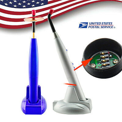 Dental 10 Wireless Cordless Led Curing Light Lamp 2000mw Battery 2 Colors Choose