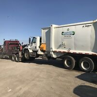 Class 1 or 3 garbage truck operator