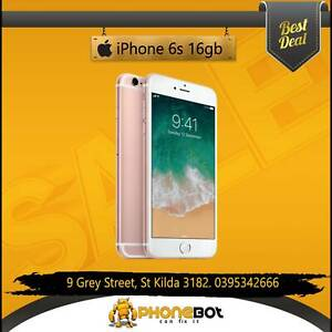Excellent condition iPhone 6s 16GB network unlocked @ phonebot St Kilda Port Phillip Preview
