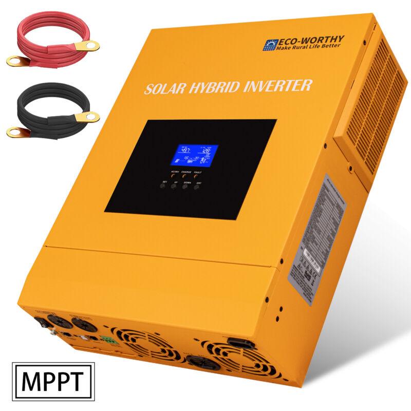 3500W 48V Solar Charger Inverter Off Grid Inverter 110V AC 80A Mppt Controller