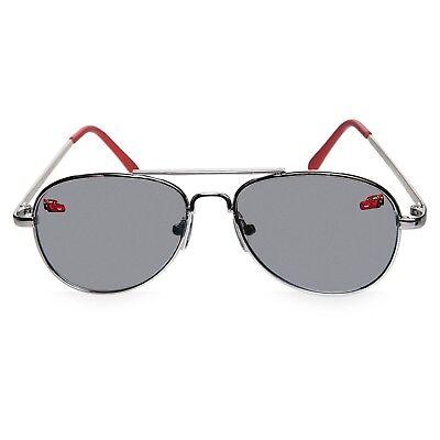 NEW Disney Store Boys Cars Lightning McQueen Sunglasses 100% UV Aviator - Lightning Mcqueen Sunglasses